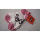 Ponožky pro holčičky Harley Davidson GHD086H0HD - 2 páry