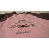 Dívčí růžové tričko s dlouhým rukávem Harley Davidson,6-8 T