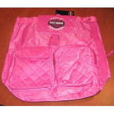 Harley Davidson Girls Pink Bagpack