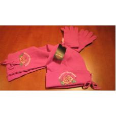 Harley Davidson girl scarf + gloves + cap set for 4-6 or 7-14 years
