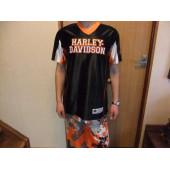 Harley Davidson sportovní tričko pro děti a mladistvé - černé