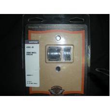 Harley Davidson Chrome Front Wheel Spacer Kit  41618-03, Softail