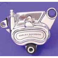 Harley-Davidson Chrome Rear Brake Caliper - 42047-08 Dyna Softail