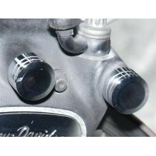 Harley Davidson Chrome Caliper Bolt Cover Kit, 43824-03