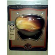 HARLEY DAVIDSON V-ROD REAL FIRE HORN COVER #69169-05BWX, VRSC