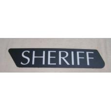 Harley Davidson Sheriff Saddlebag Insert - left side