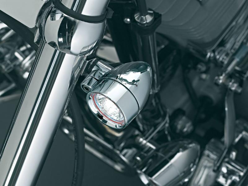 Harley Dyna 2006-2007 Kuryakyn Silver Bullet Front Fork Mounting Kit 2390