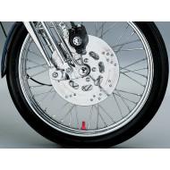 Long Red Harley Davidson Valve Stem Caps by Kuryakyn 9138