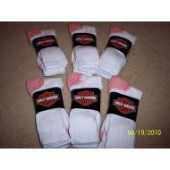 Harley Davidson pánské ponožky - 2 páry - bílé