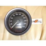 Harley Davidson tachometr v km/h Dyna Super Glide 1999-2003,Ø skla 80 mm