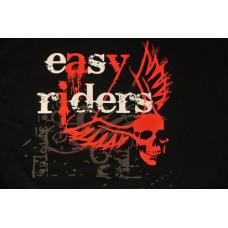 Easyriders Men's Skull with Wings XXL biker shirt