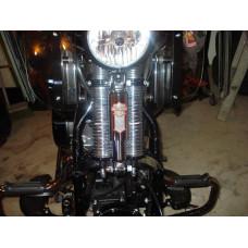 Harley Davidson Shock Nameplate Emblem 66030-88