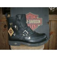 Kožené boty Harley Davidson Distortion D94167, vel.40, 43,5, 50