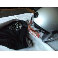 Harley Davidson stříbrná helma JET II 98013-06 M