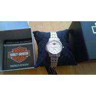 Harley Davidson dámské hodinky s krystaly Swarovski 78L114