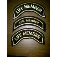 Harley Davidson HOG Life Member nášivka