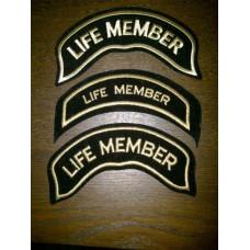 Harley Davidson HOG Life Member Patch