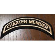 Harley Davidson HOG Charter Member nášivka 12,5 x 4 cm