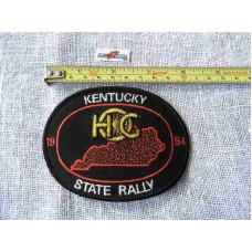 "1994 Harley HOG Kentucky State Rally Patch 4"""