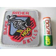 Nášivka Harley Davidson HOG Safe Rider Skills