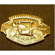Odznáček Harley Davidson HOG York Open House 2002