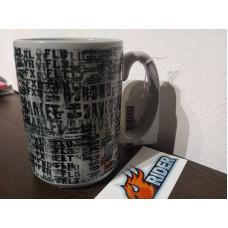 Harley Davidson Allover Print Ceramic Coffee Mug 96810-17V