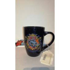 Harley Davidson Cat Graphic Live Free black Ceramic Mug 96955-12V