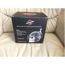 Harley Davidson Skull Rider B&S Stein, Sculpted Ceramic, 32 oz.