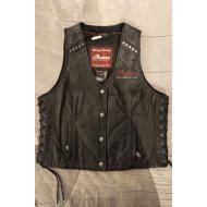 Indian Motorcycle Women Leather Vest,M, L