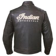 Kožená hnědá bunda Indian Motorcycle vel. M