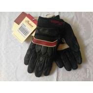 Kožené dámské retro rukavice Indian Motorcycles, velikost M
