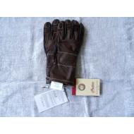 Kožené pánské hnědo-černé rukavice Indian Motorcycles