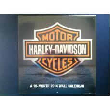 Harley Davidson 2013 Calendar