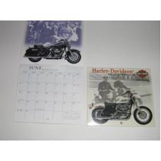 Harley Davidson Mini Calendar 2003