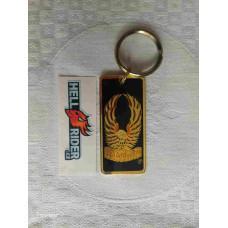 "1984 Harley-Davidson logo Wings  Gold Key Chain 1,5"""