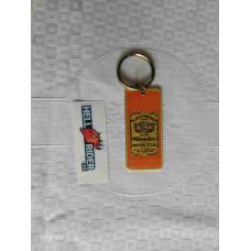 "1984 Harley-Davidson logo Milwaukee Gold Key Chain 1,5"""