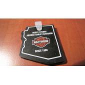 Harley Davidson - gumová klíčenka HD Arizona