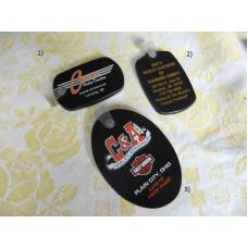 Harley Davidson - gumová klíčenka - různé
