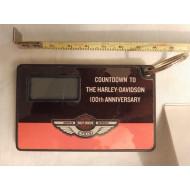 Odpočítávadlo 100. výročí Harley Davidson - klíčenka