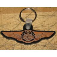 Harley Davidson gumová klíčenka Milwaukee 110. výročí
