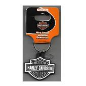 Harley-Davidson Bar & Shield Rubber Key Chain
