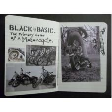 Harley Davidson Dark Custom Booklet