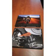 Harley Davidson desky na dokumenty Dyna Wide Glide nebo Discover HD