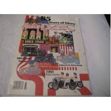 Harley Davidson magazine 1988, 85 years of glory