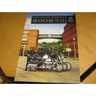 Harley Davidson propagační brožura o policejních motocyklech 2008