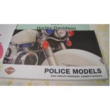 Harley Davidson Owner's Manual - Police Models