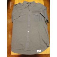 Harley-Davidson Men's Grey Short Sleeve Shirt 96409-17VM, Size L, XL