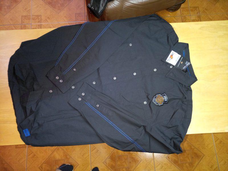 Harley Davidson Men/'s 115th Anniversary Ribstop Shirt