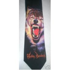Harley Davidson Lone Wolf Tie