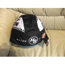 Harley Davidson Head Wrap - black and white